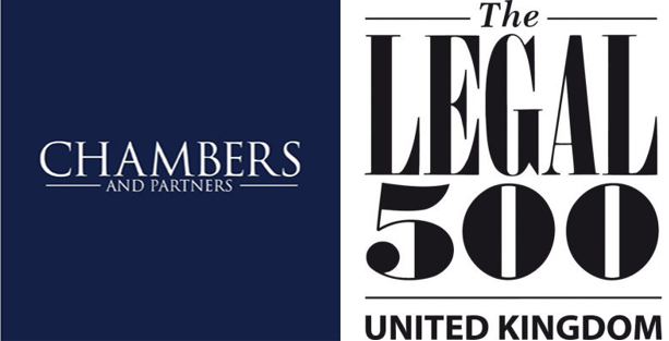 Chambers and Partners and Legal 500 recognition